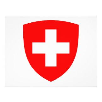 Escudo de armas de Suiza Flyer A Todo Color