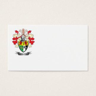 Escudo de armas de Sullivan Tarjeta De Negocios