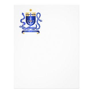 Escudo de armas de Sydney Folleto 21,6 X 28 Cm