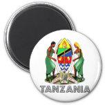 Escudo de armas de Tanzania Iman Para Frigorífico