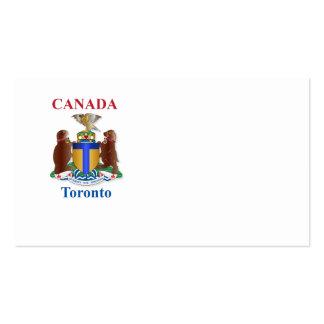 Escudo de armas de Toronto Tarjetas De Visita