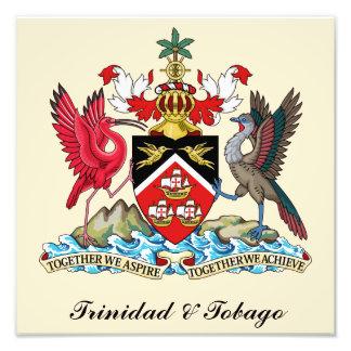 Escudo de armas de Trinidad and Tobago Foto