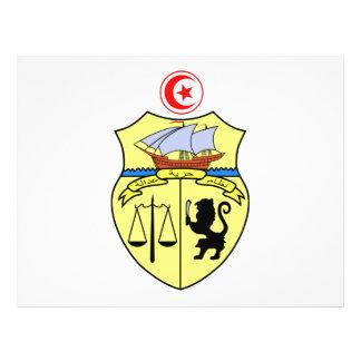 Escudo de armas de Túnez Tarjetas Publicitarias