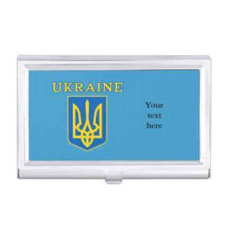 Escudo de armas de Ucrania Caja De Tarjetas De Presentación