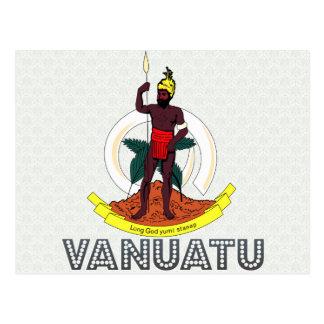 Escudo de armas de Vanuatu Postal