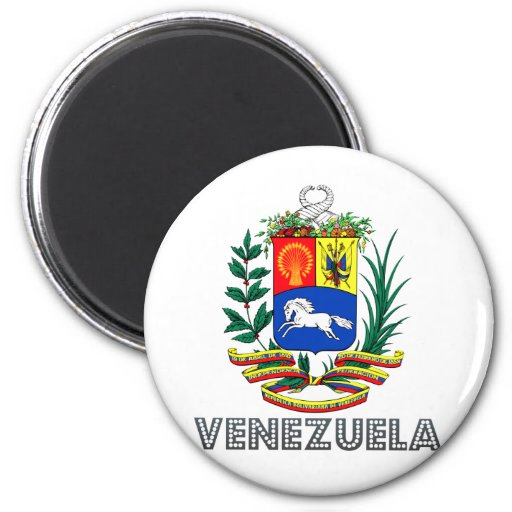 Escudo de armas de Venezuela Imán Para Frigorifico