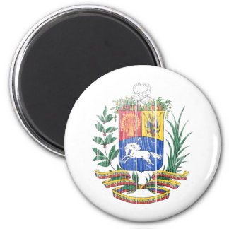Escudo de armas de Venezuela Imán Redondo 5 Cm