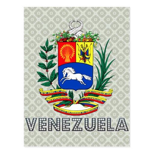Escudo de armas de Venezuela Postales