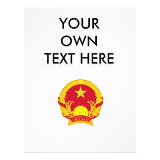 Escudo de armas de Vietnam Flyer A Todo Color