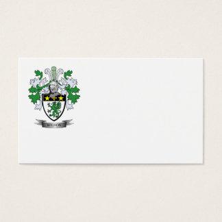 Escudo de armas de Wilson Tarjeta De Negocios