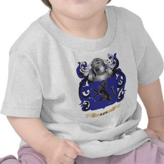 Escudo de armas del Aba (escudo de la familia) Camisetas