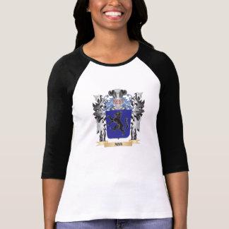 Escudo de armas del Aba - escudo de la familia Camiseta
