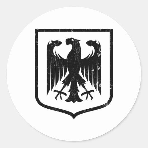 Escudo de armas del alemán Eagle - de Deutschland Pegatina