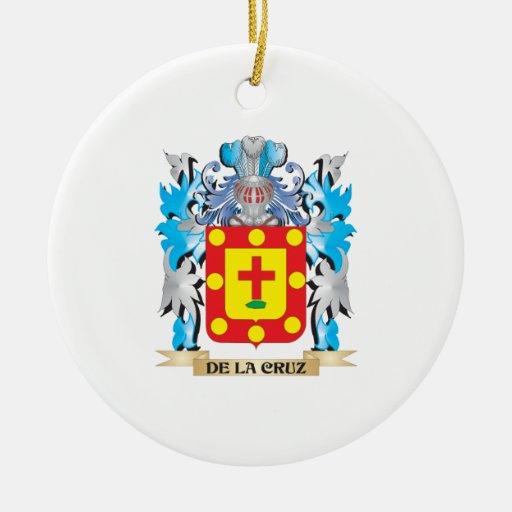 Escudo de armas del De-La-Cruz - escudo de la fami Adorno De Reyes