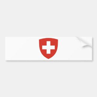 Escudo de armas del der Schweiz de Suiza - de Pegatina Para Coche