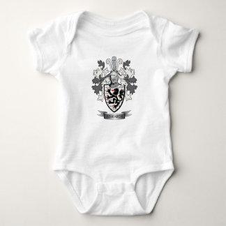 Escudo de armas del escudo de la familia de body para bebé