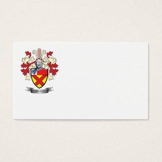 Escudo de armas del escudo de la familia de Bruce Tarjeta De Negocios