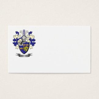 Escudo de armas del escudo de la familia de Greer Tarjeta De Negocios