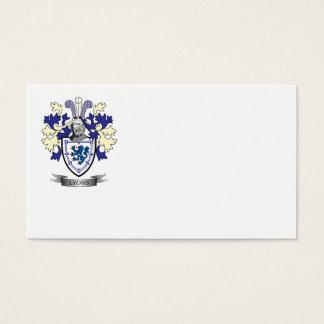 Escudo de armas del escudo de la familia de Lyon Tarjeta De Negocios
