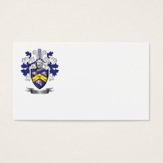 Escudo de armas del escudo de la familia de MacKay Tarjeta De Negocios