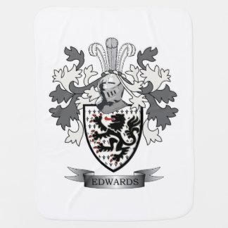 Escudo de armas del escudo de la familia de mantita para bebé