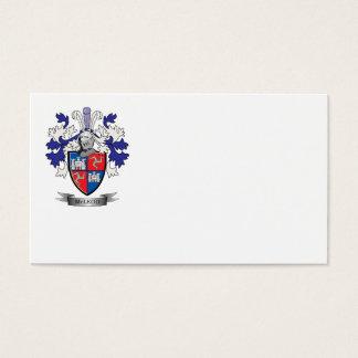 Escudo de armas del escudo de la familia de McLeod Tarjeta De Negocios