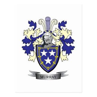 Escudo de armas del escudo de la familia de Murray Postal