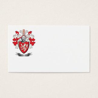 Escudo de armas del escudo de la familia de tarjeta de negocios