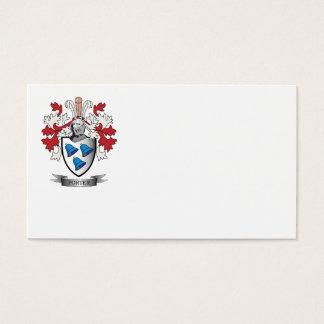 Escudo de armas del escudo de la familia del tarjeta de negocios