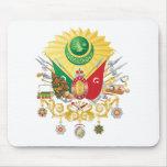 Escudo de armas del imperio otomano alfombrillas de raton