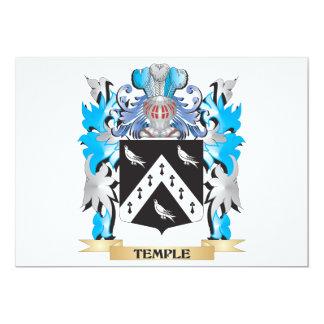 Escudo de armas del Le - escudo de la familia Invitación 12,7 X 17,8 Cm