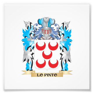 Escudo de armas del Lo-Pinto - escudo de la Impresión Fotográfica