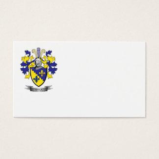 Escudo de armas del mandingo tarjeta de negocios