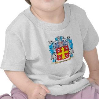 Escudo de armas del mezcal - escudo de la familia camisetas