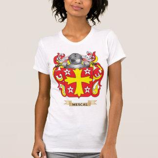Escudo de armas del mezcal (escudo de la familia) camisetas