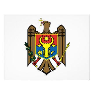 Escudo de armas del Moldavia Tarjeta Publicitaria