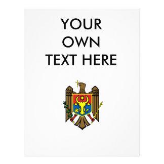 Escudo de armas del Moldavia Tarjetas Publicitarias