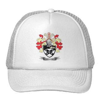 Escudo de armas del panadero gorras