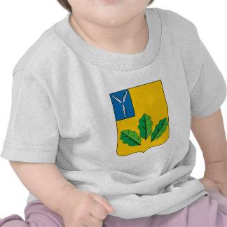Escudo de armas del rayón de Novoburassky Camisetas
