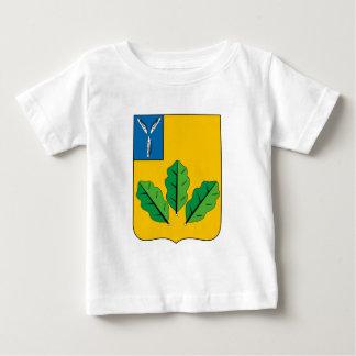 Escudo de armas del rayón de Novoburassky Camiseta De Bebé