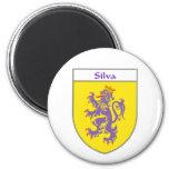 Escudo de armas del Silva/escudo de la familia Iman De Frigorífico