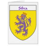 Escudo de armas del Silva/escudo de la familia Tarjetas