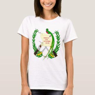 Escudo de armas GT de Guatemala Camiseta