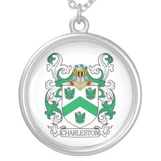 Escudo de armas II de Charleston Colgante Redondo