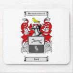 Escudo de armas (inglés) de Ford Tapete De Raton
