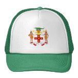 Escudo de armas jamaicano gorros