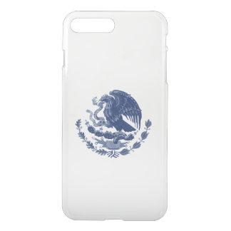 Escudo de armas mexicano funda para iPhone 8 plus/7 plus