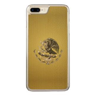 Escudo de armas mexicano funda para iPhone 8 plus/7 plus de carved
