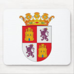 Escudo de armas Mousepad de Castilla Y León Alfombrillas De Raton