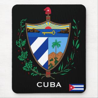 Escudo de armas Mousepad de Cuba* Alfombrillas De Ratón